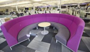 Open work environment at Plantronics. (Vicki Thompson)