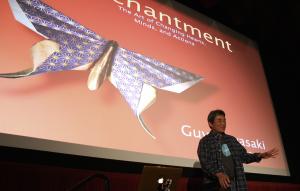 Guy Kawasaki speaks at the Santa Cruz New Tech Meetup on May 7, 2014 (Photo credit: SCNTM)