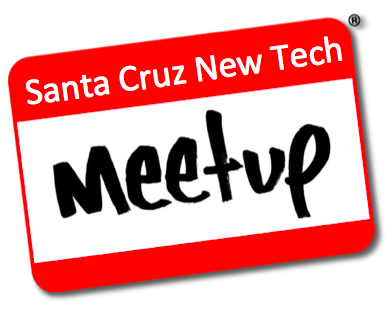 Here's the lineup for December 5 Santa Cruz New Tech Meetup