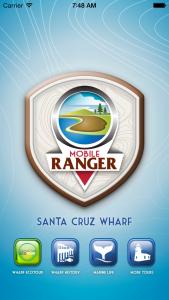 Wharf app-tour home page.