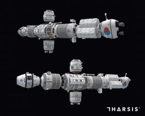 The crew in Tharsis will try to survive on the damaged ship, the Aporea. The ship is divided into several compartments that each play a key role in the crew's survival. (Photo credit: Choice Provisions)
