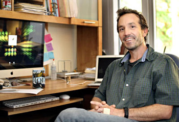 Bioinformatics expert Joshua Stuart, who leads the Pan-Cancer Initiative.