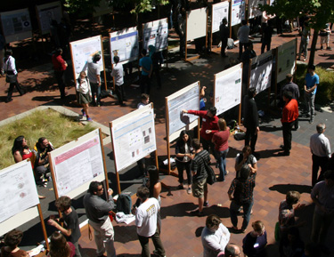 Undergrads present work at Summer Research Symposium