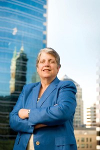 The fund is a potential vehicle for supporting basic research and talent, said UC President Janet Napolitano. (photo credit: Paolo Vescia)