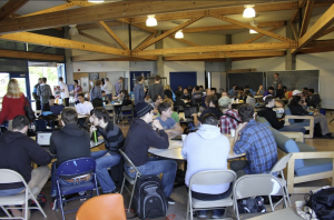 Students at Hack UCSC 2014 (photo contributed)