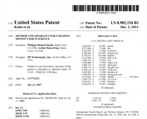 Fullpower Awarded Patent Critical for Wearable Devices