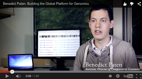$1M awarded for UCSC to lead on new human genome map