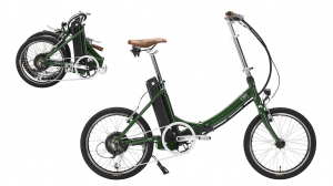 The foldable electric bike is a great alternative for both travelers and commuters with limited storing. Photo: contributed.