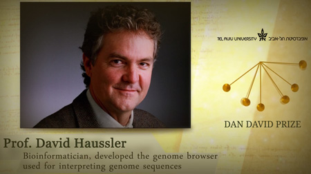Genomics Institute's David Haussler awarded prestigious Prize