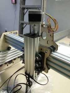 This CNC machine was built by IFL members. Photo contributed.