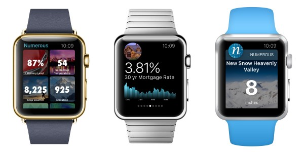 Numerous on the Apple Watch Home Stretch