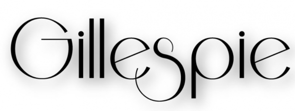 Gillespie – My First Typeface