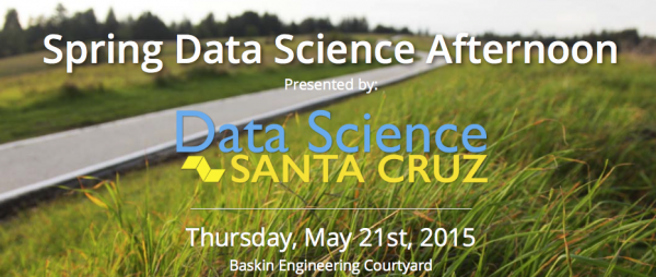 Explore Frontiers of Data Science at Spring Data Science Afternoon