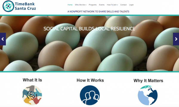 """TimeBank launches new website and asks, """"Is timebanking relevant?"""""""