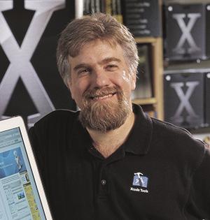 Theodore Goldstein directs Medbook. (Photo by R.R. Jones)