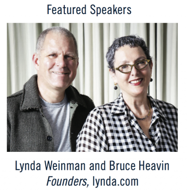 lynda.com Founders to Speak at Colligan Theatre on Dec 2