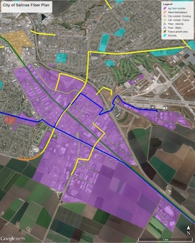 Salinas targets AgTech Corridor, downtown with broadband RFP