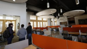 The new 2,800-square-foot Western Growers Center for Innovation and Technology in Old Town Salinas houses startup technology companies. (Source: LA Times)
