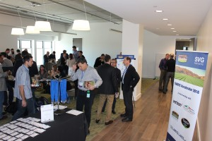 Attendees register at yesterday's Thrive Accelerator event. (Contributed)