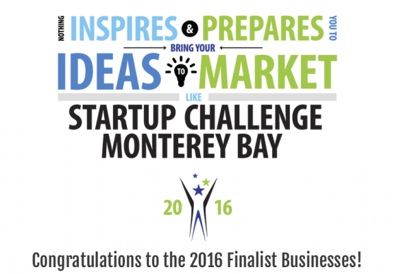 Finalists Announced for Startup Challenge Monterey Bay 2016