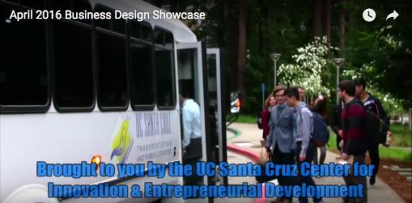 Watch: UCSC Business Design Showcase, reflections on 2016, plans for 2017