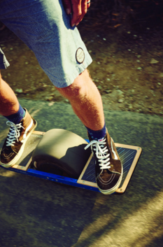 (2 of 7) Lean forward, and a two-horsepower motor engages automatically. Today's version turns smoothly in response to heel-and-toe pressure and reaches a straight-line top speed of 16 miles per hour—twice as fast as the beta model launched via Kickstarter in 2015. Which is to say the best hoverboard in production flies and carves. (Credit: Cody Pickens)