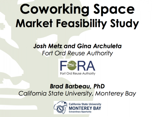 FORA coworking feasibility report suggests unmet local demand