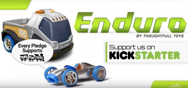 Thoughtfull Toys Launches Enduro Kickstarter Campaign