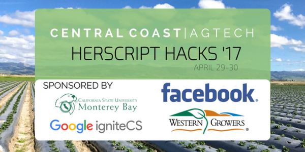 herScript Hacks will focus on agtech at this year's hackathon