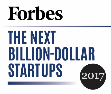 Look who made Forbes' Next Billion-Dollar Startups 2017 list
