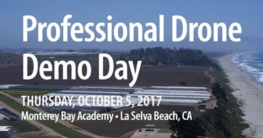 Professional Drone Demo Day flies into La Selva Beach on Oct 5