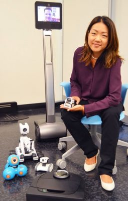 Love 'em or hate 'em, robots are here to stay so let's make them better, says psychology prof