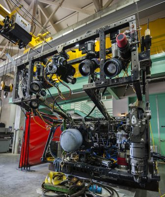 MBARI's ROV Ventana undergoes an overhaul