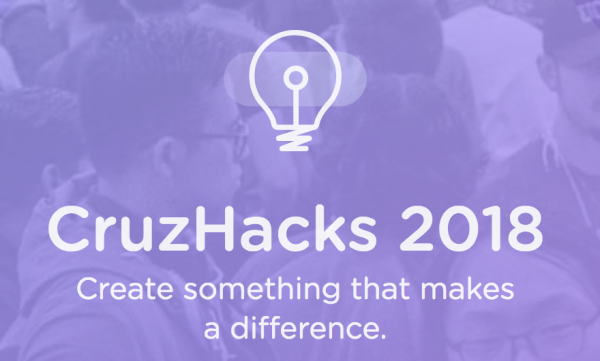 CruzHacks kicks off January 19, 2018