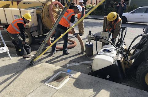 Cruzio begins constructions of Santa Cruz Fiber network