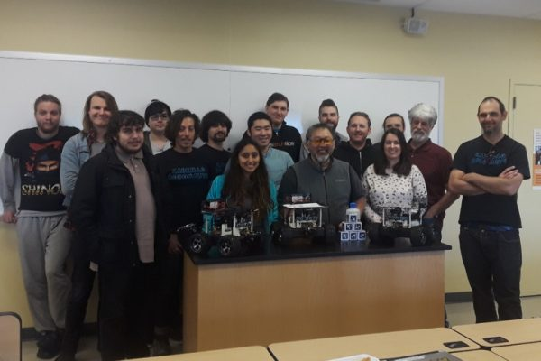 Cabrillo College Robotics Club is raising money for a trip to NASA Swarmathon