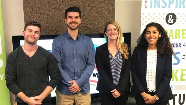 Four Middlebury Students Advance to Finals of Startup Challenge