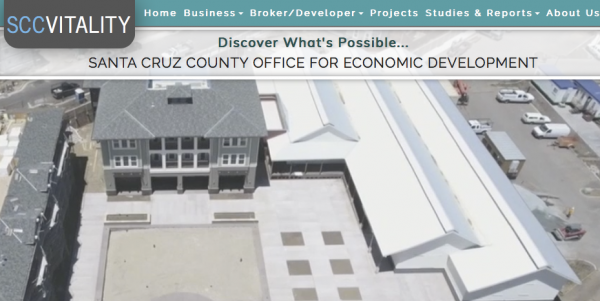 Santa Cruz County Office for Economic Development debuts new website