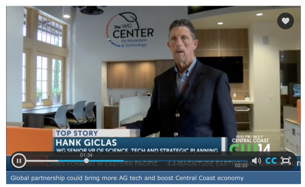 Watch: Global partnership could bring more AG tech to Salinas Valley