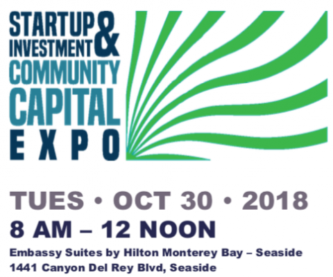 Startup Investment and Community Capital Expo return Oct 30