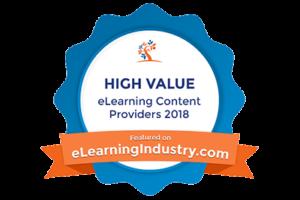 Monarch Media Wins eLearning Industry Award