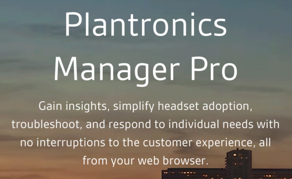 Plantronics Cloud Solutions Finish Strong in 2018 for Customers and Partners