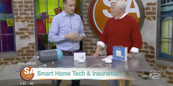 Buoy makes the (TV) news in USAA pilot program