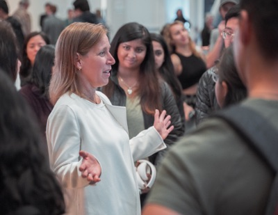 YouTube CEO Susan Wojcicki and Google exec Dennis Troper share tips and tales at UCSC visit