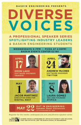 Diverse Voices speaker series will offer insight into tech career success
