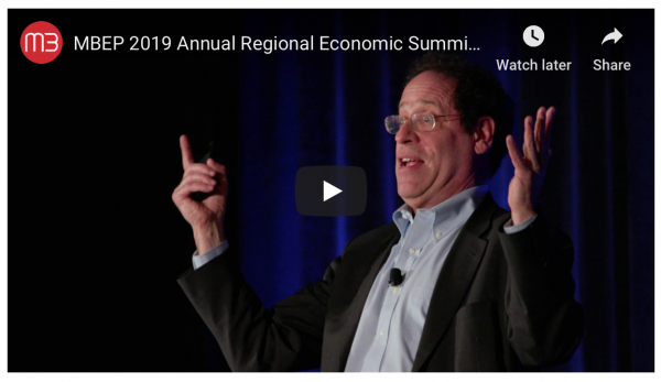 Recap: MBEP's 2019 Regional Economic Summit