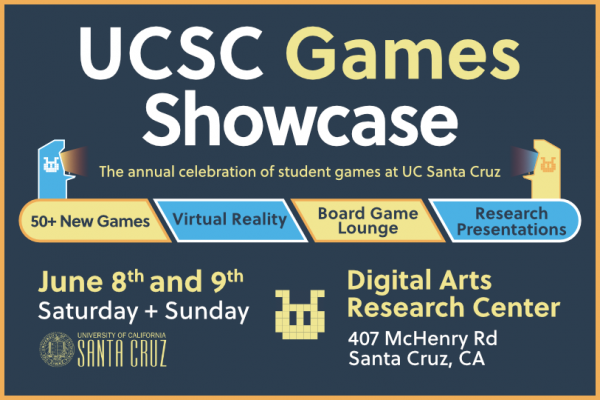 UCSC Games Showcase in June celebrates undergraduate and graduate game design