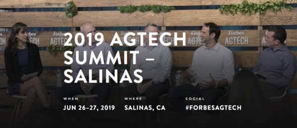 Sonny Perdue, U.S. Secretary of Agriculture, To Headline Fifth-Annual Forbes AgTech Summit In Salinas