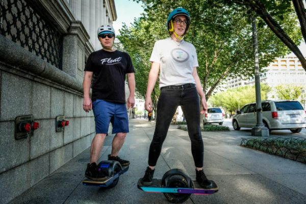Onewheel Riders Build Community While Floating Through the Region's Streets