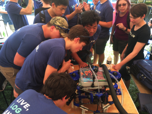 Aptos High School Robotics Team Wins International Competition